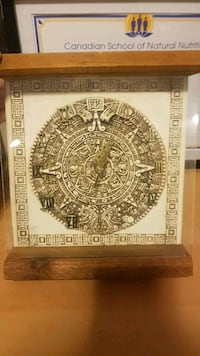 Mayan clock. Mint condition.  Calgary, T2Y 4A6