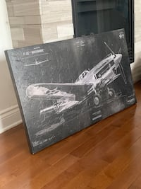 Picture frame - airplane - black and white Laval, H7T 1T7