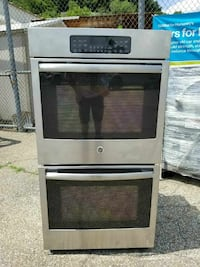 used wall ovens for sale used stainless ge wall oven excellent condition 8795