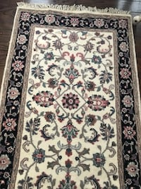 Beautiful hand knotted wool runner rug never used