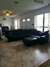 Leather sectional  Fort Lauderdale, 33312