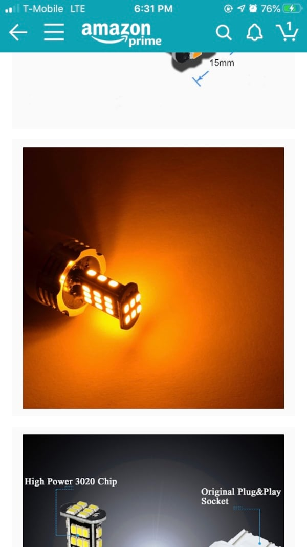 Alla-Super Bright Amber LED turn signal bulbs e0afcf42-fb48-4897-97e0-71b8fef559b0