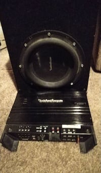 Rockford Fosgate p3 10 with punch 325.1 amp
