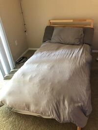 Two two beds with frames and comforters. NEED TO GET RID OF Upland, 91786