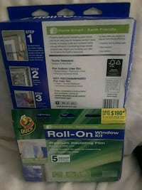 3 Insulating window kits Revere, 02151