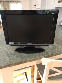 """16"""" sharp TV with built in DVD player  Huntington, 11743"""