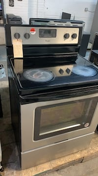 """Stove 30"""" stainless steel"""