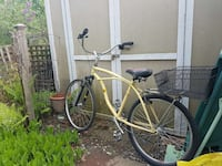 yellow and silver cruiser bicycle Toronto, M4E 1X9