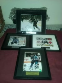 four assorted NHL photo with black wooden frames Monterey, 93940