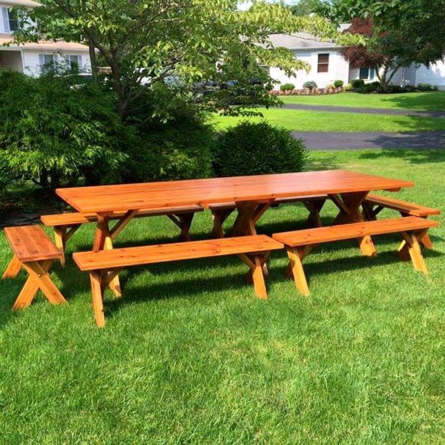 Custom Cedar Picnic Tables