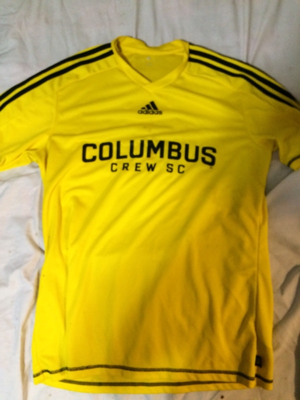 03aed438d Used yellow Adidas Fly Emirates jersey shirt for sale in Delaware ...