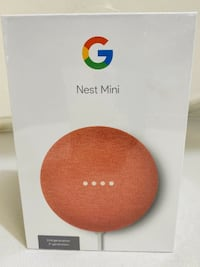 Small yet mighty! Google Nest Mini (2nd Gen) - Brand New in Sealed Box