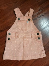 6 months overall dress in new condition  Gilroy, 95020