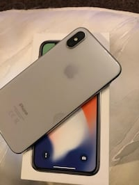 Silver iPhone X 64GB  Calgary, T3A 1B2