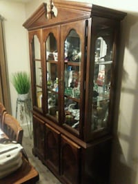 cabinet empty all original glass with lights Rosedale, 21237