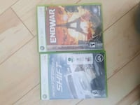 two Xbox 360 game cases Surrey, V3T 1H9