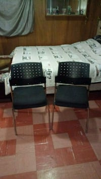 two black-and-gray armchairs Toronto, M3H 2V6