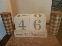 Christmas count down block  Whitby, L1N 8X2
