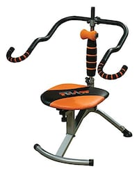 exercise chair twist negotiable