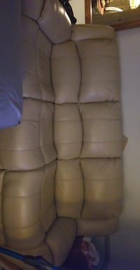 Rooms To Go leather couch