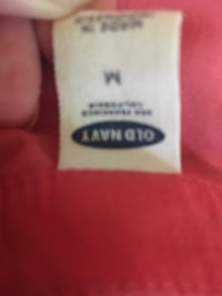 Old navy red tank with one pocket Abbotsford, V2T 7Y3