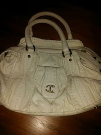 Just Cavalli hvit snakeskin leather bag  Oslo
