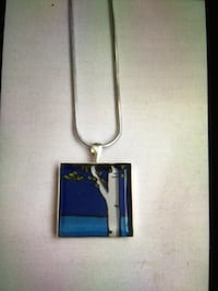 NEW BLUE PENDANT NECKLACE  Wilkes Barre, 18705