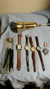 Old watches price's are negotiable  Uniontown, 44685