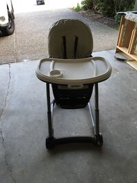 Graco high chair - Black and Gray Surrey