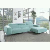 [SPECIAL] Prose Subtle Teal Sectional Fairfax