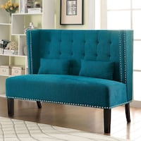Teal Wingback Accent Chair  San Diego, 92126