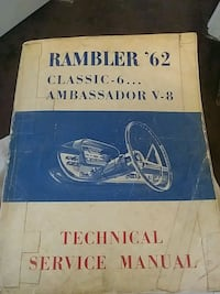 Rambler - Six and V8 - 1962 Hopewell, 23860