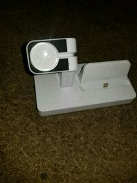 White iphone charger dock new  San Jose