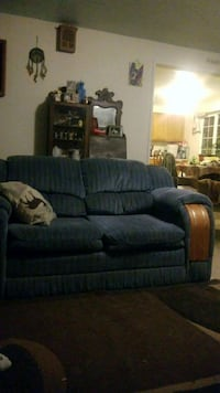 couch and love seat matching, best offer.  Fall Creek, 97438