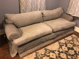 Grey couch with removable/washable cover.Free just need it gone