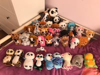 Beanie Boos with a wooden hanger Mississauga, L5M 6K3
