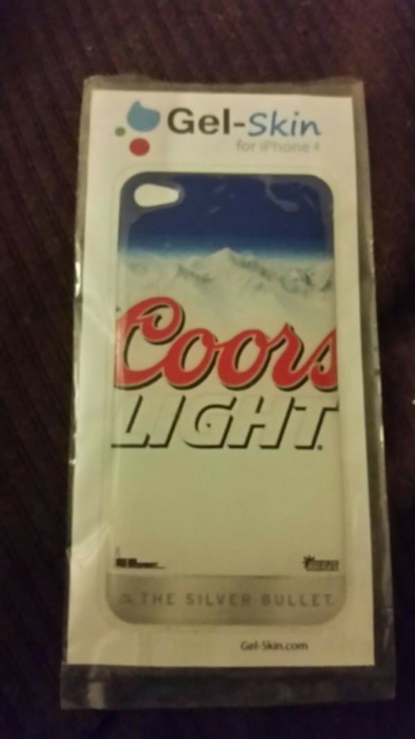 Coors light gel skin for Apple IPhone 4 b315df89-50c6-459a-aea3-1d2c90a878bc