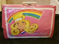 Vintage Tara Toy Co American Beauty Barbie Doll Carrying Case W/Handle