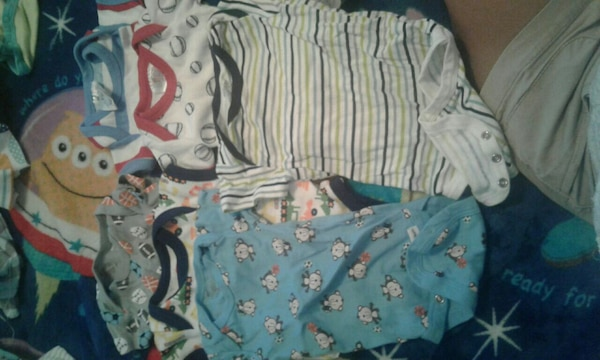baby's clothes lot