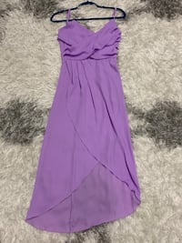 Purple dress crisscross top Oakville, L6K 1S2