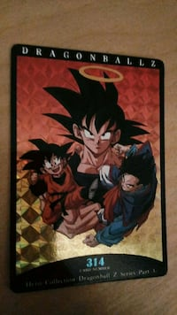 Carta Dragon Ball Z Hero Collection número 314 Barcelona, 08006