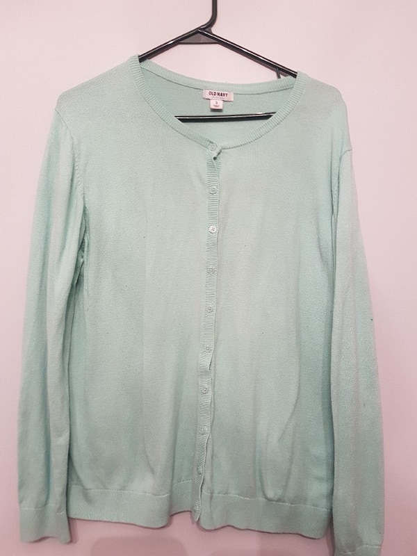 b98f94f244d5eb Used gray button-up long-sleeved cardigan for sale in Waterloo - letgo