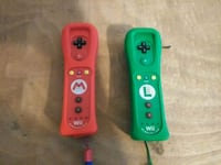 Two wii u and wii controllers mario and luigi  Haltom City, 76117