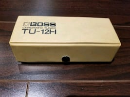 Boss chromatic tuner  TU--12H