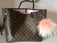 Louis Vuitton Neverfull Tasche rosa NEU