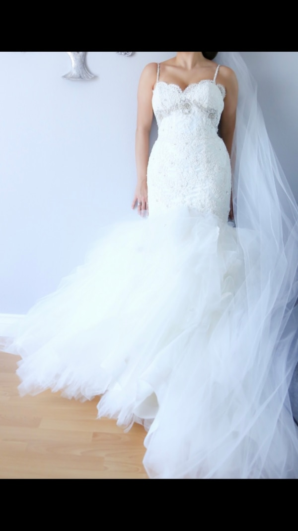 Used Eve Of Milady Wedding Dress For Sale In Los Angeles Letgo