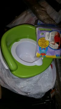 Toddler training potty, step stool & seat covers