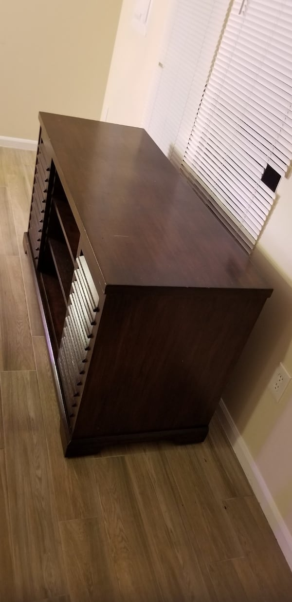 TV Stand with Organizational Shelves aaa48be6-c8e5-49ff-b9af-ec0a94db35bf