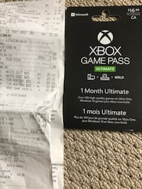 $51 worth of game pass gift card