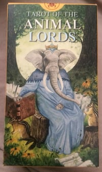 """Tarot of the Animal Lords"" av Angelo Giannini OSLO"